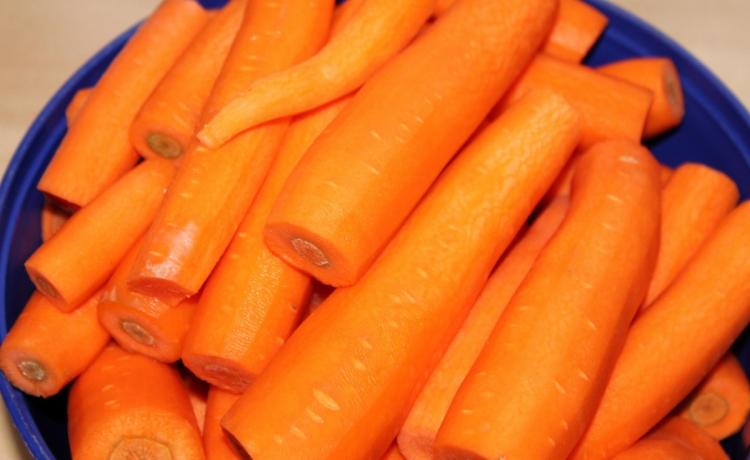 Gestoofde worteltjes
