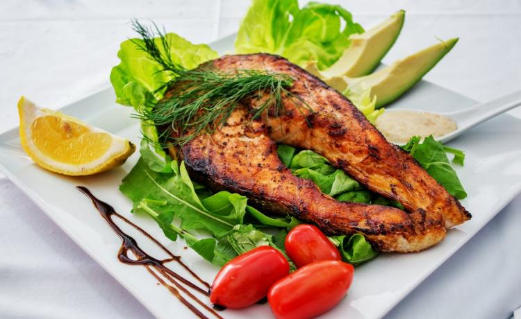 Vis en kip gerechten